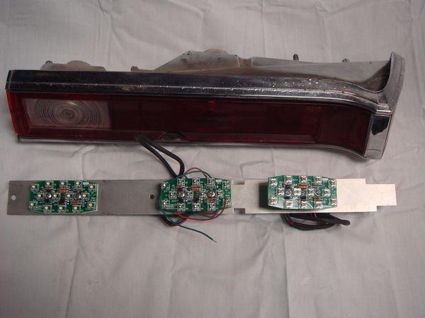 68-69 Javelin super tail lights LED