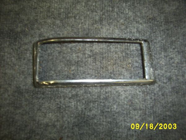 46-48 horizonal tail light bezel