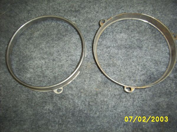 49-51 head light inner ring