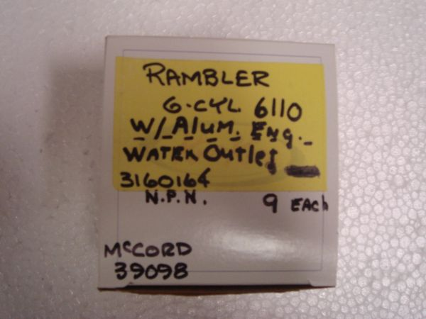 Rambler thermostat gaskets