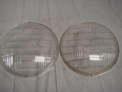 30-33 willys head light glass