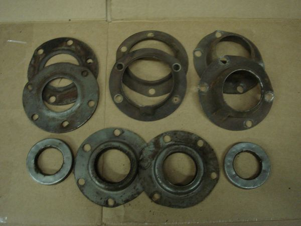 40 Misalanes parts from a rear end