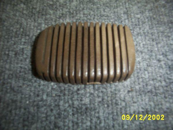 rubber brake / clutch pedel