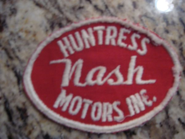 NASH HUNTRESS SERVICE BADGE