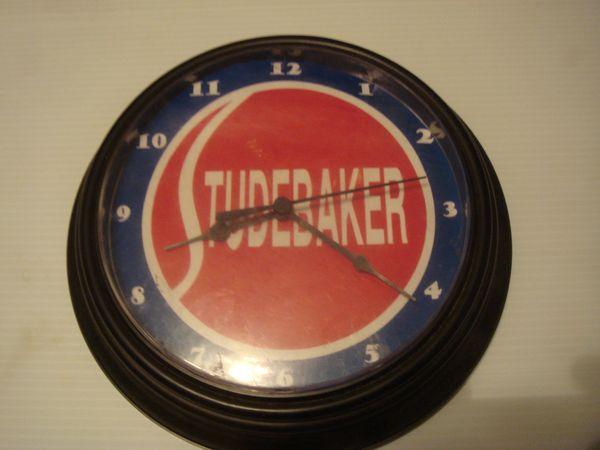 Studebaker clock