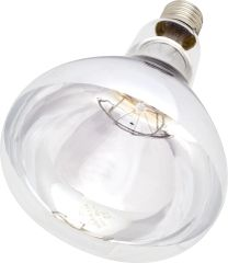 Intelec Clear, Hard Glass Infra-Red Bulb 250 watt