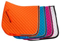 Rhinegold Elite Diamante Trimmed Saddle Cloth