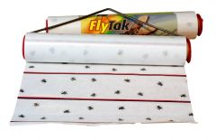 Pest Trappa Sticky Fly Roll Mini 200mm Wide, With Holder