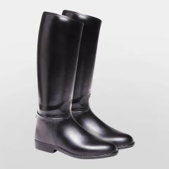 Harry Hall Long Riding Boots Start Childs in Black Size UK 1