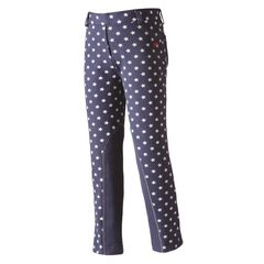 Harry Hall Junior Jodhpurs with Kinsley Star Design in Denim Blue
