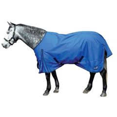 Masta TEX Basic Turnout Rug Lightweight Standard Neck in Blue 6'9""