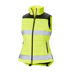Harry Hall Hi-Viz Womens Gilet in Yellow Size 12