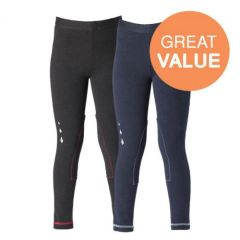 Harry Hall Pull-On Junior Jodhpurs Twin Pack in Black/Navy 26""