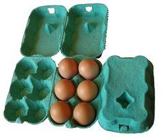 Eton 3 X 6 Egg Boxes Green