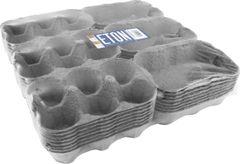 Eton 3 X 6 Egg Boxes Grey