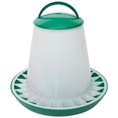 ETON POULTRY HOPPER FEEDER 10KG WITH LID