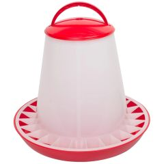 ETON TSF Range, RED/WHITE Feeders with clip on lids. 10kg