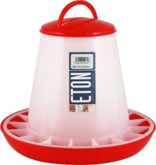 ETON TSF Range, RED/WHITE Feeders with clip on lids. 3kg