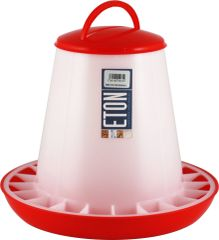 ETON TSF Range, RED/WHITE Feeders with clip on lids. 6kg