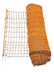 Poutry Netting 50m Double Prong Orange