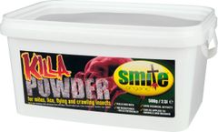 Smite Organic Killa Powder,Mites,Lice,Flying & Crawling Insect Control 500g