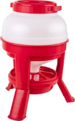 Eton Tripod Hopper Feeder in Red