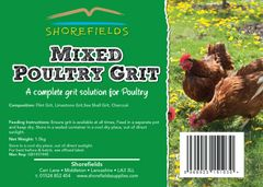 Shorefields Mixed Poultry Grit 1.5kg
