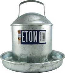 ETON GALVANISED TRADITIONAL DRINKERS 0.5 GALLON