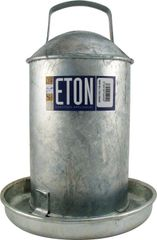 ETON GALVANISED TRADITIONAL DRINKERS 1 gallon