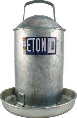 ETON GALVANISED TRADITIONAL DRINKERS 2 gallon