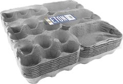 Eton egg boxes 24 x 1/2 dozen shrink wrapped 3x6