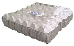 30 Egg Grey, fibre Eton egg trays, pack of 10