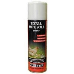 NETTEX Total Mite Spray (aerosol) 250ml and 500ml