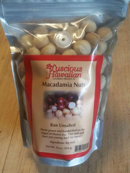 Macadamia Nuts 8 oz Dry Roasted Unsalted