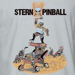 STERN APOCALYPTIC PINBALL TEE
