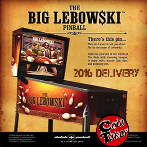 The Big Lebowski Pinball / TBL DEPOSIT ONLY