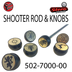 Game of Thrones Shooter Rod and Knobs 502 7000 00