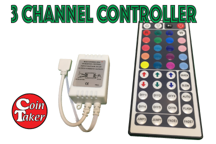 LED Controller 3 Channel IR