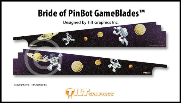 BRIDE OF PINBOT GAME BLADES