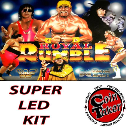 WWF ROYAL RUMBLE LED Kit w Super LEDs