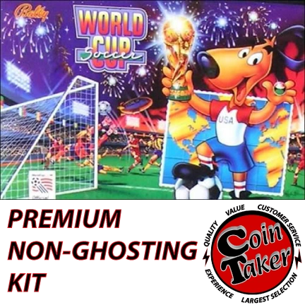 WORLD CUP SOCCER WCS LED Kit with Premium Non-Ghosting LEDs