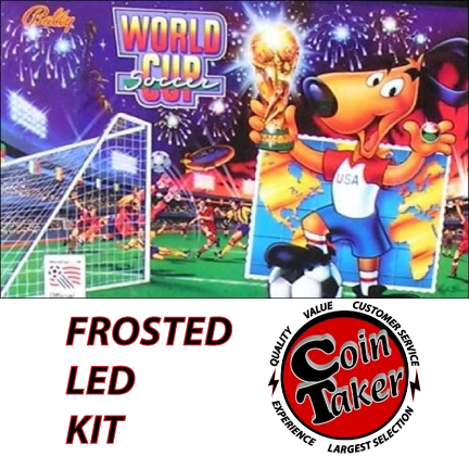 WORLD CUP SOCCER LED Kit w Frosted LEDs