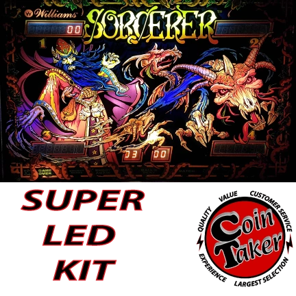2. SORCERER LED Kit w Super LEDs