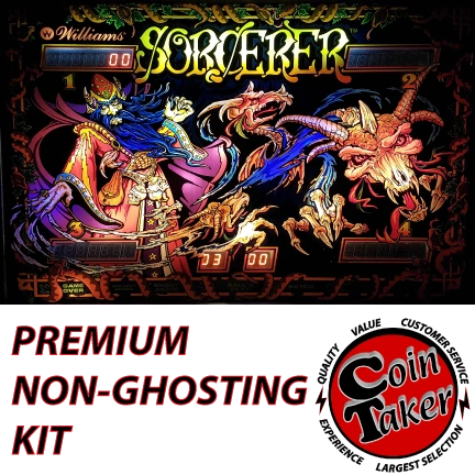 1. SORCERER LED Kit with Premium Non-Ghosting LEDs