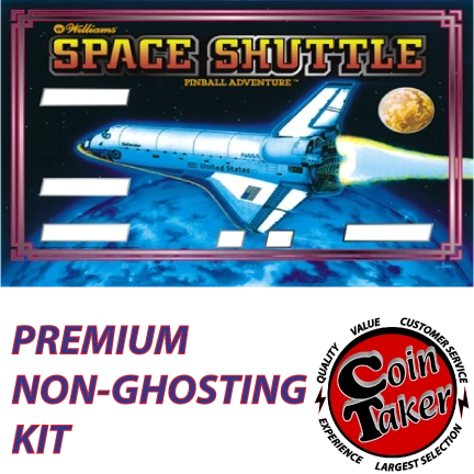 SPACE SHUTTLE Kit with Premium Non-Ghosting LEDs