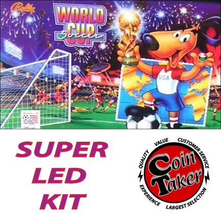 WORLD CUP SOCCER LED Kit w Super LEDs