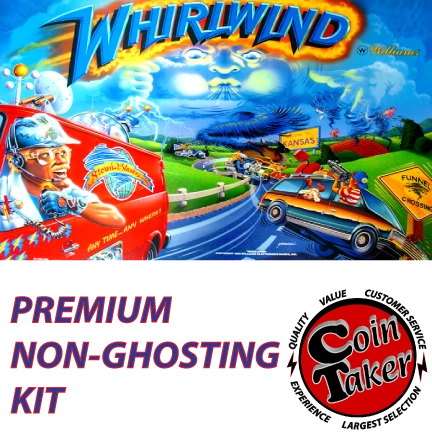 WHIRLWIND LED Kit with Premium Non-Ghosting LEDs