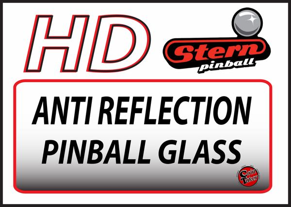 HD ANTI REFLECTION PINBALL GLASS