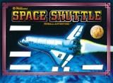 SPACE SHUTTLE SILKSCREENED BACKGLASS