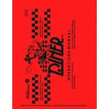 DINER PINBALL MACHINE MANUAL (REPRINT)